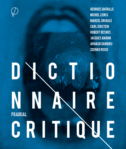 Dictionnaire critique, de Georges Bataille, Michel Leiris etc.